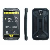 Topeak RideCase, with RideCase Mount, for Samsung Galaxy S4, Black