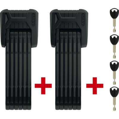 ABUS lakat Bordo Granit X-Plus 6500/85 fekete SH TwinSet