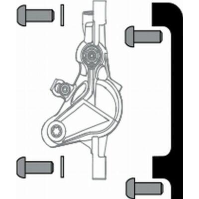 Avid fék adapter 40 PM