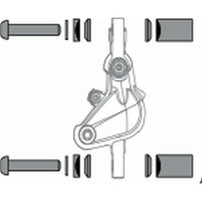 Avid fék adapter távtartó készlet 20S