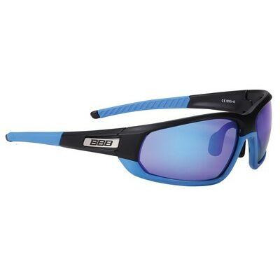 BBB BSG-45 Adapt Fulframe szemüveg matt fekete-matt kék keret / PC MLC kék lencsékkel