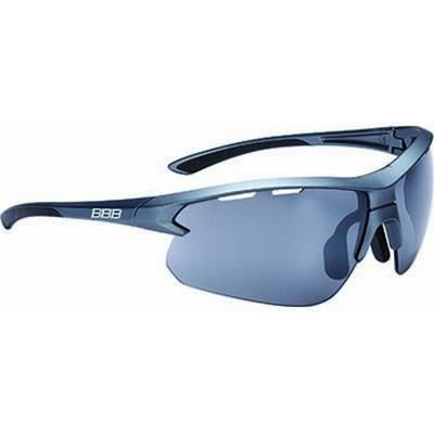 BBB BSG-52 Impulse szemüveg matt premium acélszürke keret / PC füst fényes tükrös lencsékkel