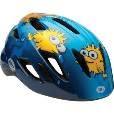 Bell Zipper gyermek fejvédő - kék