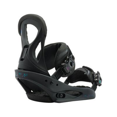 Burton STILETTO 18/19 Snowboard kötés black matte