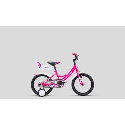 CTM Jenny 2021 Gyerek Kerékpár pink-fehér