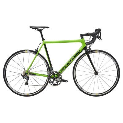 Cannondale SUPER SIX EVO CARBON ULTEGRA 2018 férfi Országúti Kerékpár zöld