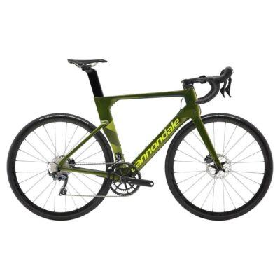 Cannondale SYSTEM SIX CARBON ULTEGRA 2019 férfi Országúti kerékpár zöld