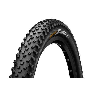 Continental gumiabroncs kerékpárhoz 60-584 X-King 2.4 Performance 27,5x2,4 fekete/fekete, Skin