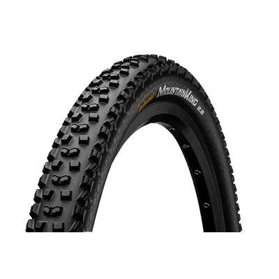 Continental gumiabroncs kerékpárhoz 55-622 Mountain King II 2.2 Performance 29inch 29x2,2 fekete/fekete, Skin