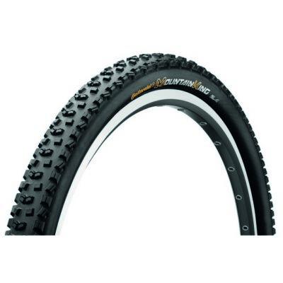 Continental gumiabroncs kerékpárhoz 60-559 Mountain King II. 2.4 RaceSport 26x2,4 fekete/fekete, Skin hajtogathatós