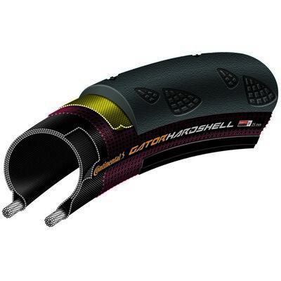 Continental gumiabroncs kerékpárhoz 23-622 GatorHardshell 700x23C fekete/fekete, DuraSkin