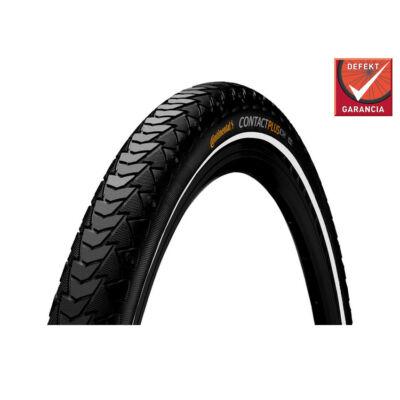 Continental gumiabroncs kerékpárhoz 47-406 Contact Plus 20x1,75 fekete/fekete, reflektoros