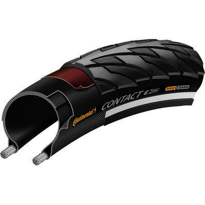 Continental gumiabroncs kerékpárhoz 28-622 Contact 700x28C fekete/fekete, reflektoros