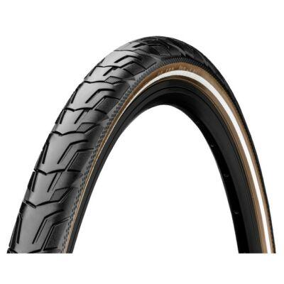 Continental gumiabroncs kerékpárhoz 47-622 Ride City 28x1,75 fekete/barna, reflektoros