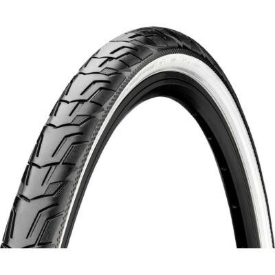 Continental gumiabroncs kerékpárhoz 47-622 Ride City 28x1,75 fekete/fehér, reflektoros