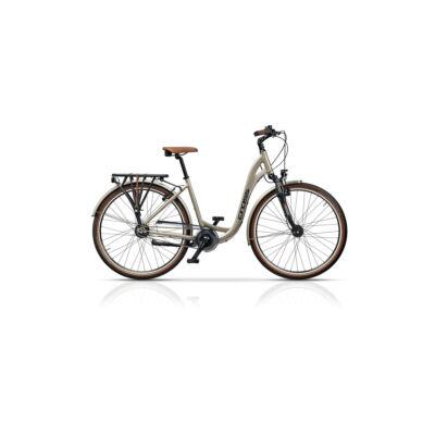 """Cross 28"""" Cierra city női LS bézs 2021 Női City kerékpár"""