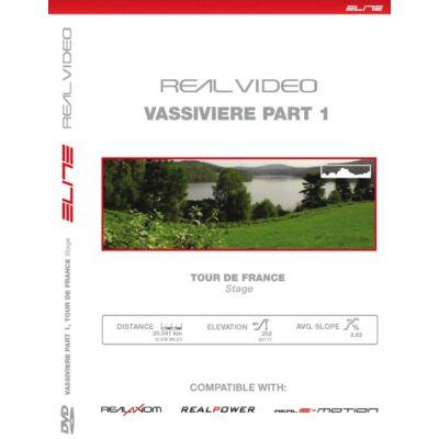 Elite görgőhöz DVD Vassiviere I TdF
