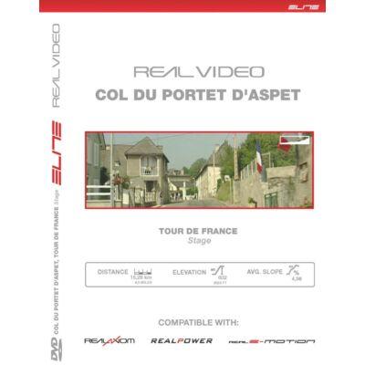 Elite görgőhöz DVD Col Du Portet D'Aspet