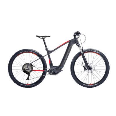 "Gepida RUGA DEORE 10 POWERTUBE 29"" 2019 férfi E-bike matt fekete-piros"