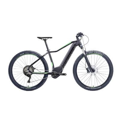 "Gepida ASGARD 1000 SLX 10 POWERTUBE 27,5"" 2019 férfi E-bike matt fekete-zöld"