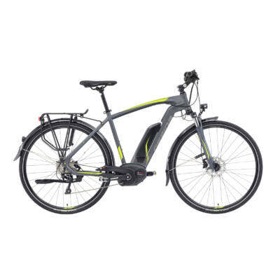 "Gepida ALBOIN SLX 10 28"" 2019 férfi E-bike matt grafit"