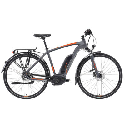 "Gepida ALBOIN ALFINE 8 28"" 2019 férfi E-bike matt grafit"