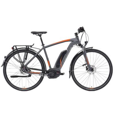 """Gepida ALBOIN ALFINE 8 28"""" 2019 férfi E-bike matt grafit"""