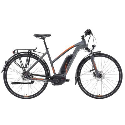 "Gepida ALBOIN ALFINE 8 28"" 2019 női E-bike matt grafit-narancs"