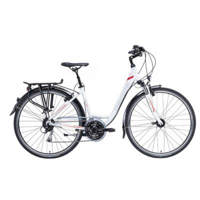 """Gepida ALBOIN 300 28"""" W 2021 női Trekking Kerékpár gyöngyfehér"""