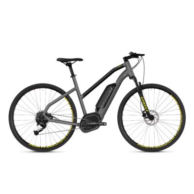 Ghost HYB Square Cross B2.9 2018 női E-bike szürke-fekete