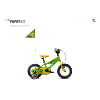 Ghost Powerkid AL 12 2020 Gyerek Kerékpár zöld