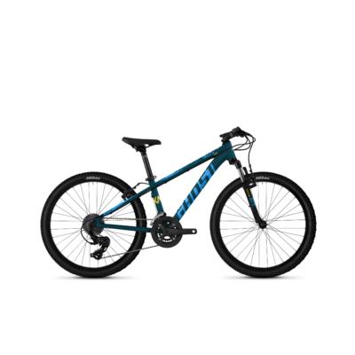 Ghost Kato Base 24 2021 Gyerek Kerékpár Petrol / Blue / Yellow