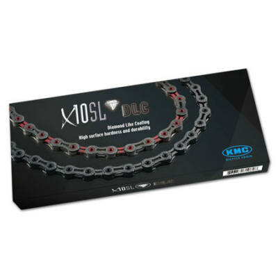 KMC Lánc X10 SL DLC 1/2x1/128 116L