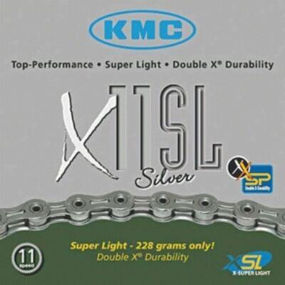 Lánc KMC X11 SL SILVER