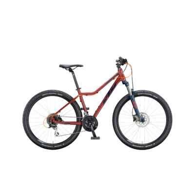 KTM PENNY LANE DISC 27 2020 női Mountain Bike indianred (eveblue+mandarin)