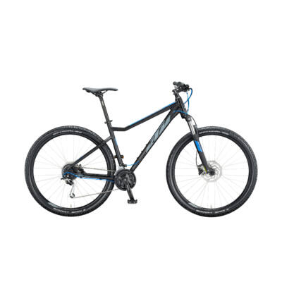 KTM ULTRA FUN 29 2020 férfi Mountain Bike black matt grey-blue