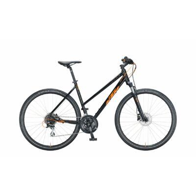 KTM Life Track 2021 női Cross Kerékpár met black (orange)