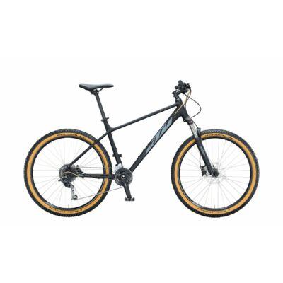 KTM Ultra Fun 27 2021 férfi Mountain Bike black matt (grey+gold)