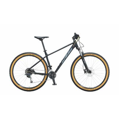 KTM Ultra Fun 29 2021 férfi Mountain Bike black matt (grey+gold)