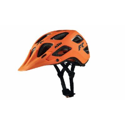 KTM fejvédő Factory Character ABS narancs