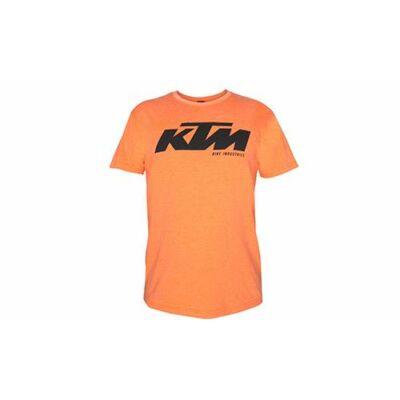 KTM Póló Factory Team T-Shirt KTM Logo narancs