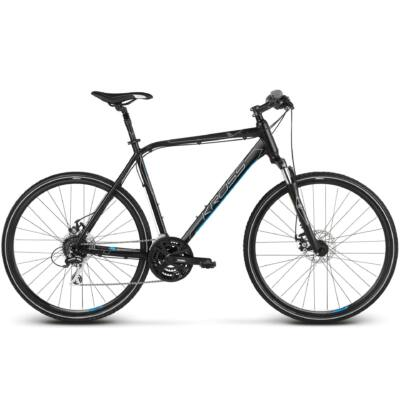 Kross Evado 3.0 2018 férfi Cross Kerékpár black-blue matte