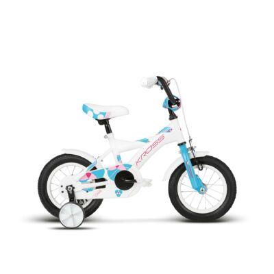 Kross Cindy 2018 Gyerek Kerékpár white-sky blue-pink glossy