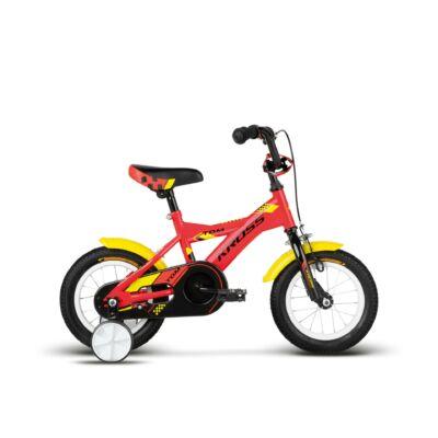 Kross Tom 2018 Gyerek Kerékpár red-yellow-black glossy