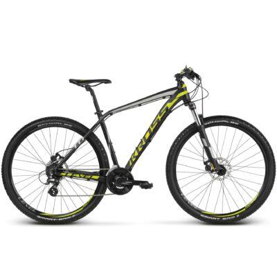 Kross Level 1.0 27,5 2018 férfi Mountain Bike black-lime-silver matte