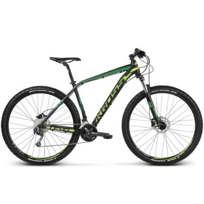 Kross Level 4.0 27,5 2018 férfi Mountain Bike black-green-dark green matte