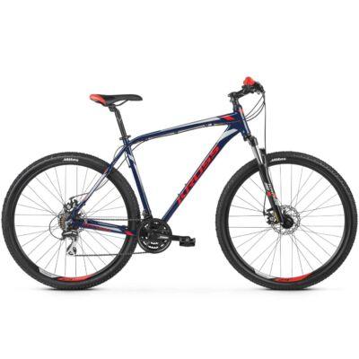 """Kross Hexagon 4.0 29"""" 2019 férfi Mountain Bike navy blue/red-silver"""