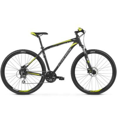 "Kross Hexagon 5.0 29"" 2019 férfi Mountain Bike black/graphite-lime"