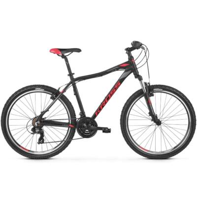 "Kross Lea 1.0 26"" 2019 női Mountain Bike black/raspberry-graphite"