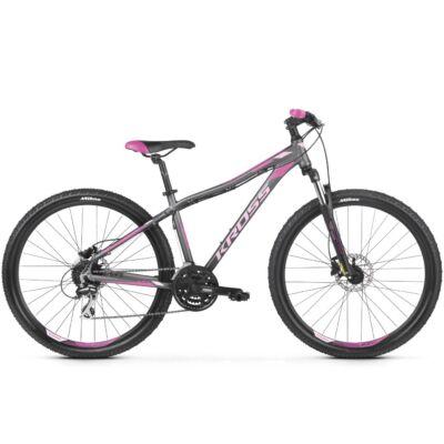 "Kross Lea 5.0 27,5"" 2019 női Mountain Bike graphite/pink-violet"